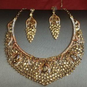Florasfantasies, wedding jewelry, prom, champagne